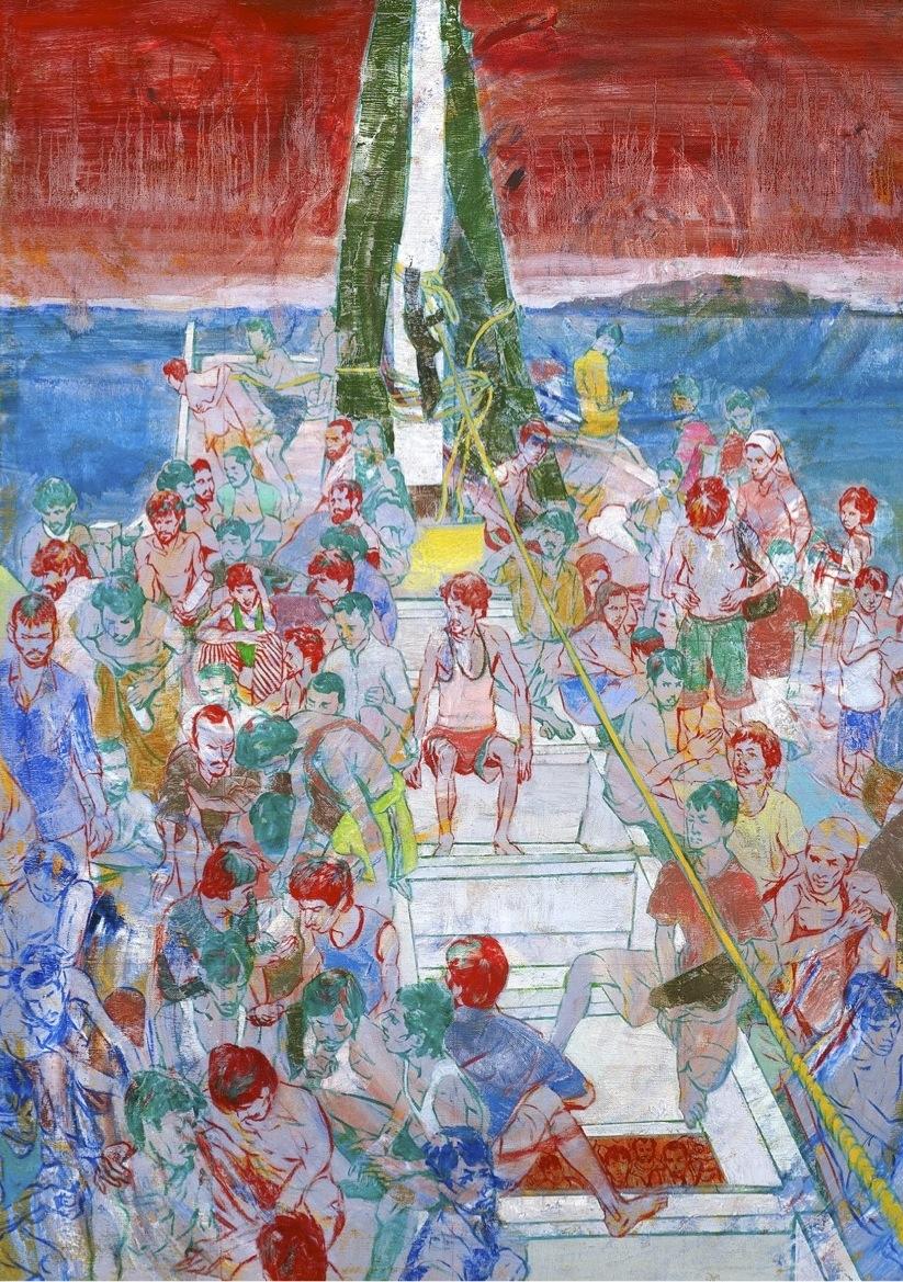 City Tales V, Laksana apung-apung di tengah laut, dipukul ombak hanyut ke tepi