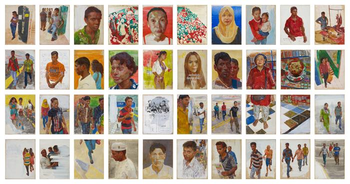 Portrait Scape of Contemporary Migration