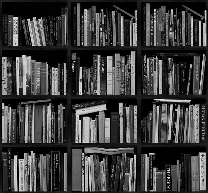 Artist Bookshelf