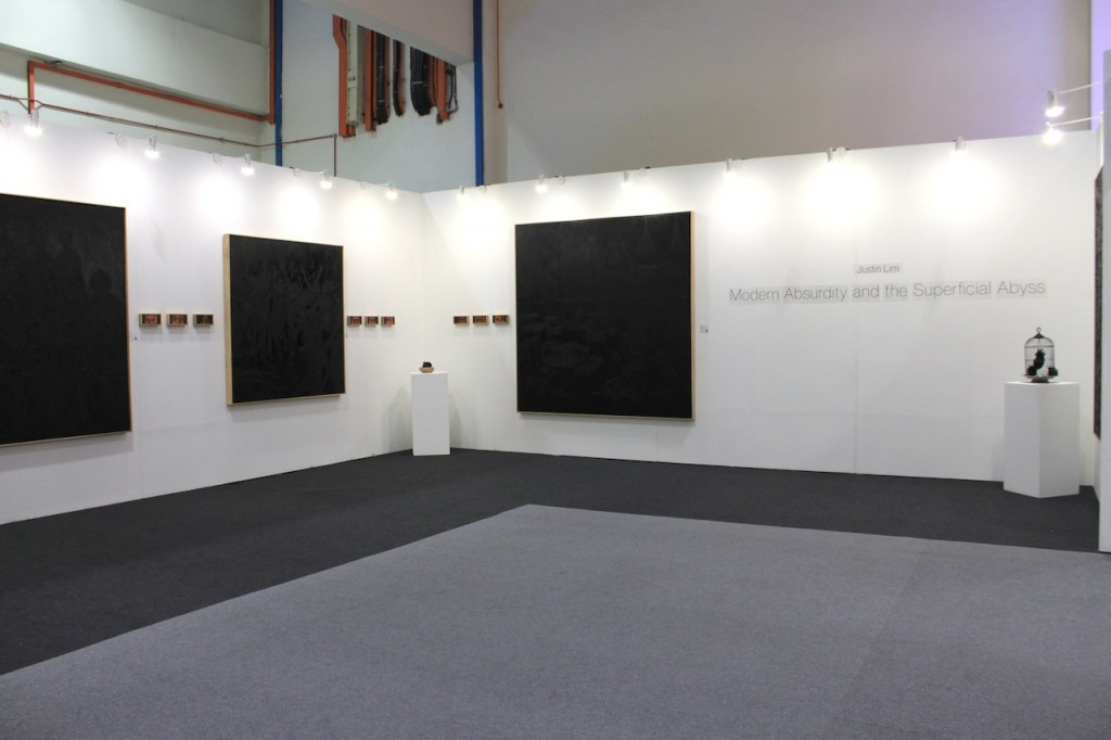 Justin Lim, Modern Absurdity and the Superficial Abyss at Art Expo 2015 (1)