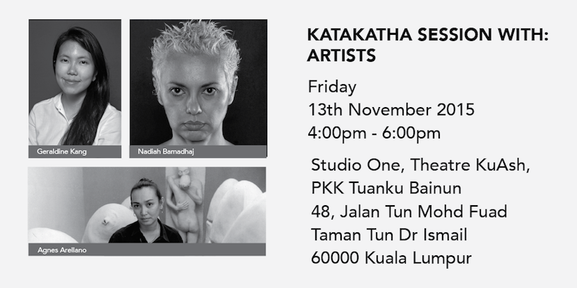 Nadiah Bamadhaj at KataKatha – Southeast Asian Conversations on Culture & The Arts