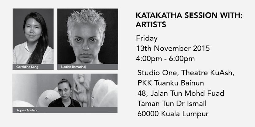 Nadiah Bamadhaj at KataKatha – Southeast Asian Conversations on Culture & The Arts