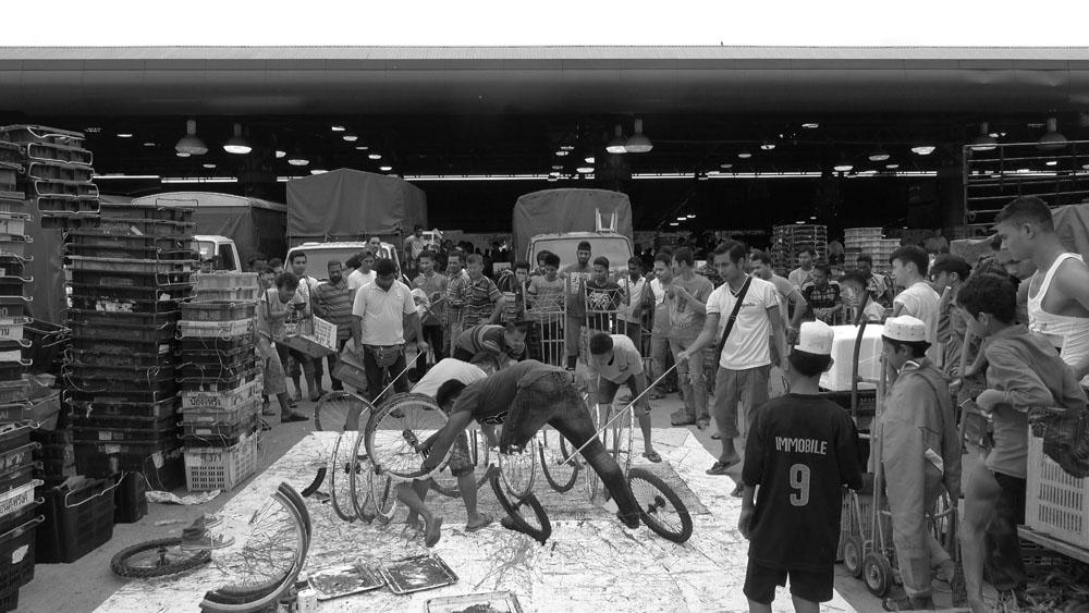 Pusat Bandar Utara Selayang, 160619 (6 Painters : 4 Wheels)