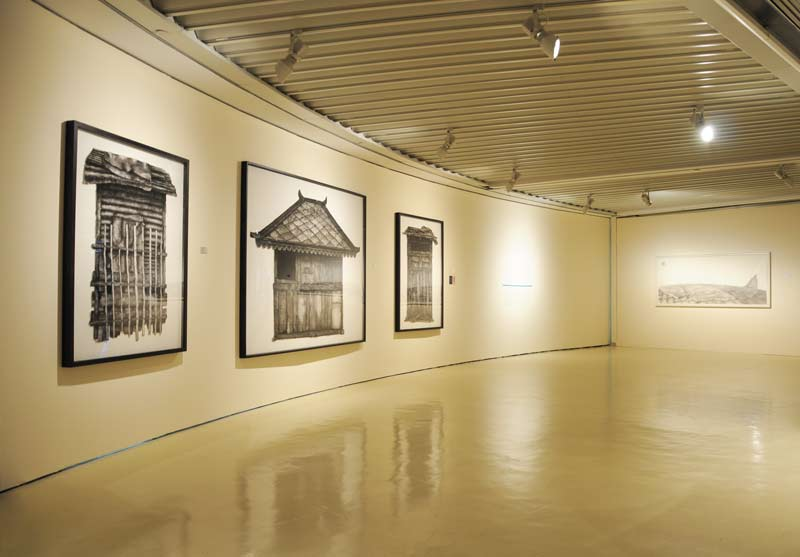 "Nadiah Bamadhaj in ""CROSSINGS: Pushing Boundaries"" at Galeri Petronas, Malaysia"