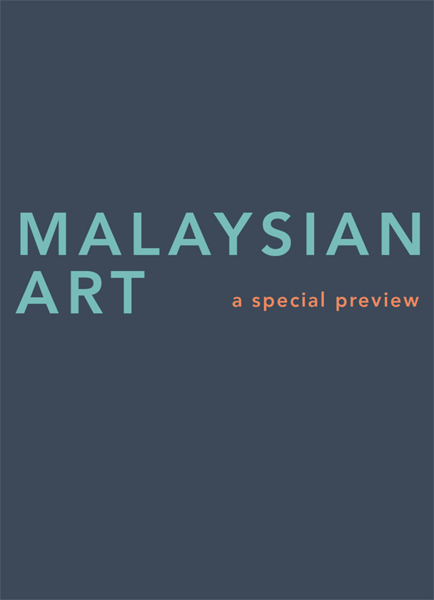 Malaysian Art, A Special Preview