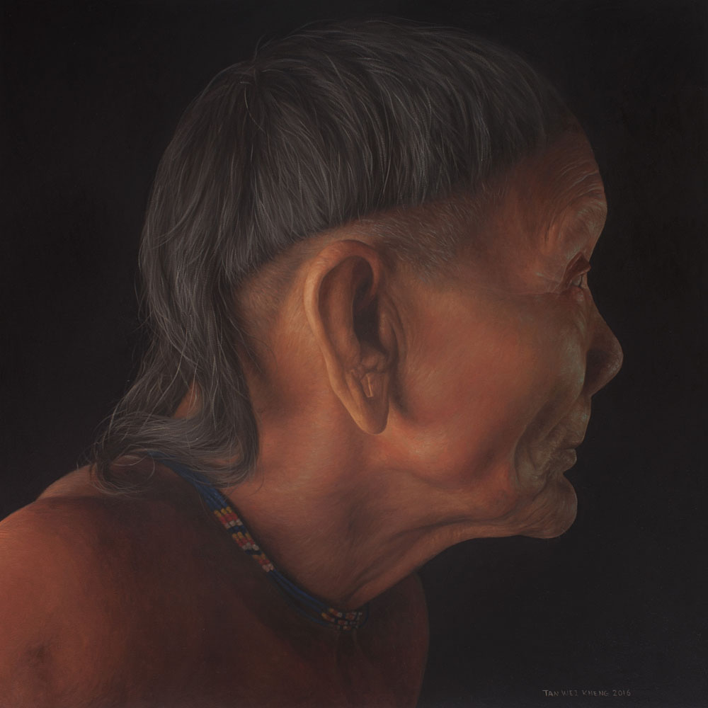 Portrait of Penan Man - Dotun Ngir