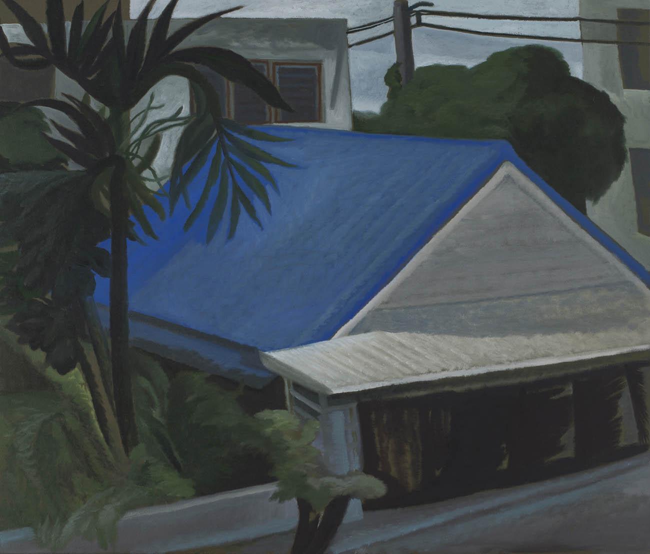 Window 2, 2nd Floor / Blue Roof