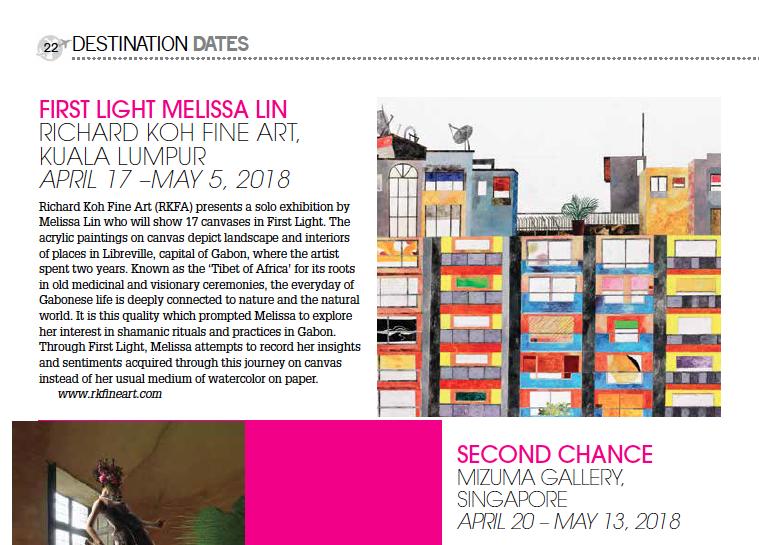 Destination – First Light, Melissa Lin