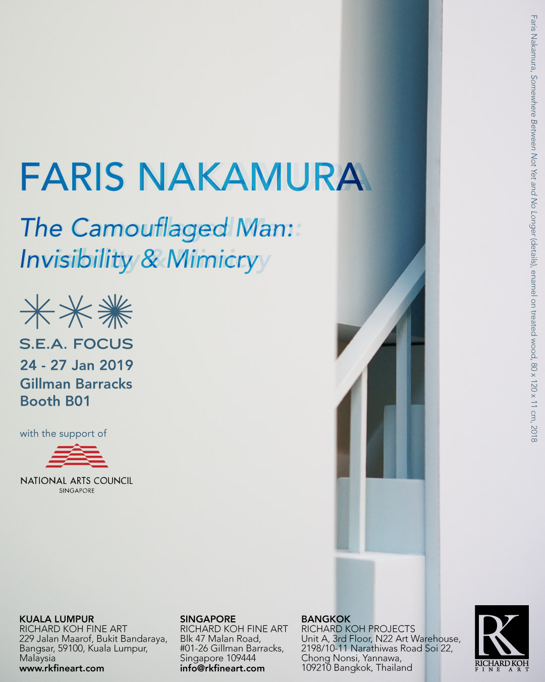 Faris Nakamura – The Camouflaged Man: Invisibility & Mimicry