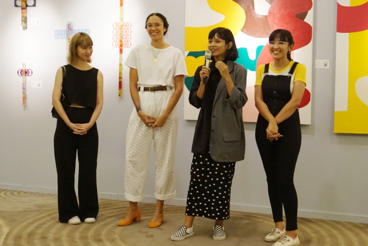 The Jakarta Post – 'Reinventing Eve' highlights women's identity in art industry