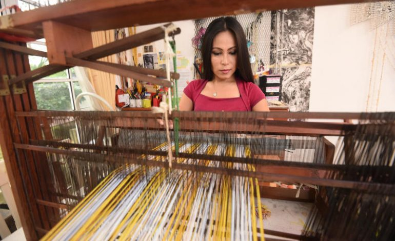 star2.com – Artist or weaver? Anne Samat doesn't care. She's set for a massively busy year ahead