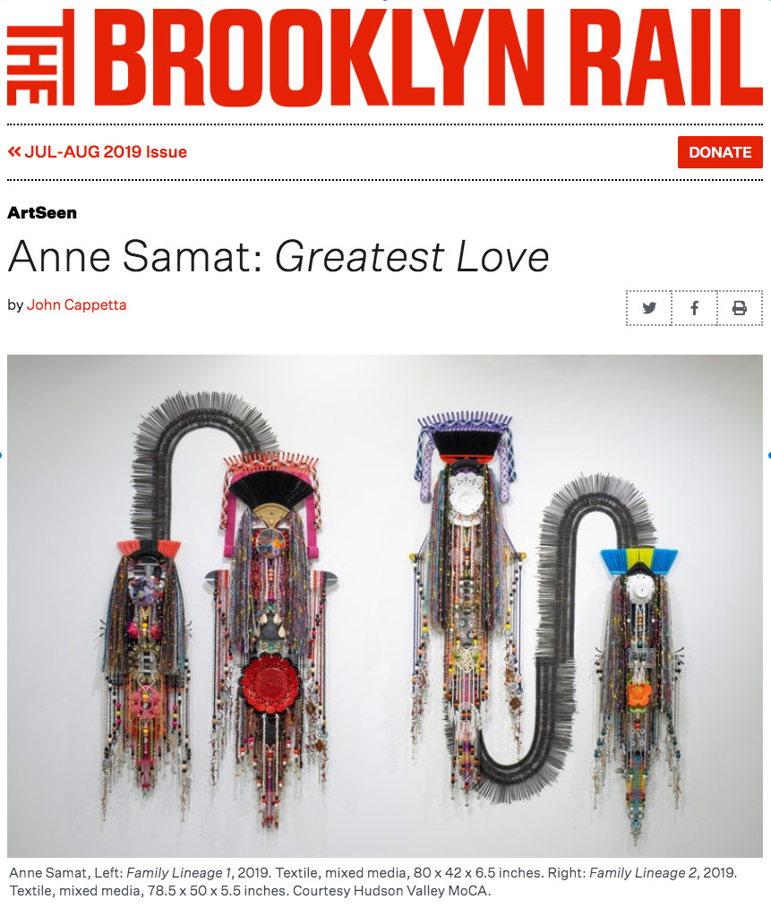 The Brooklyn Rail – Anne Samat: Greatest Love