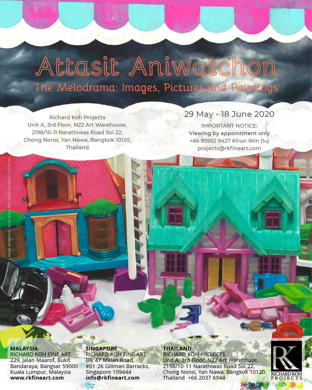 Attasit Aniwatchon – The Melodrama: Images, Pictures and Paintings