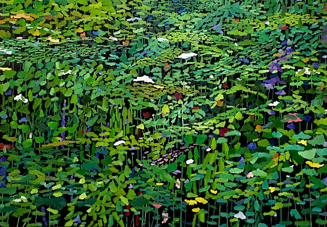 Tapestry Green Painting