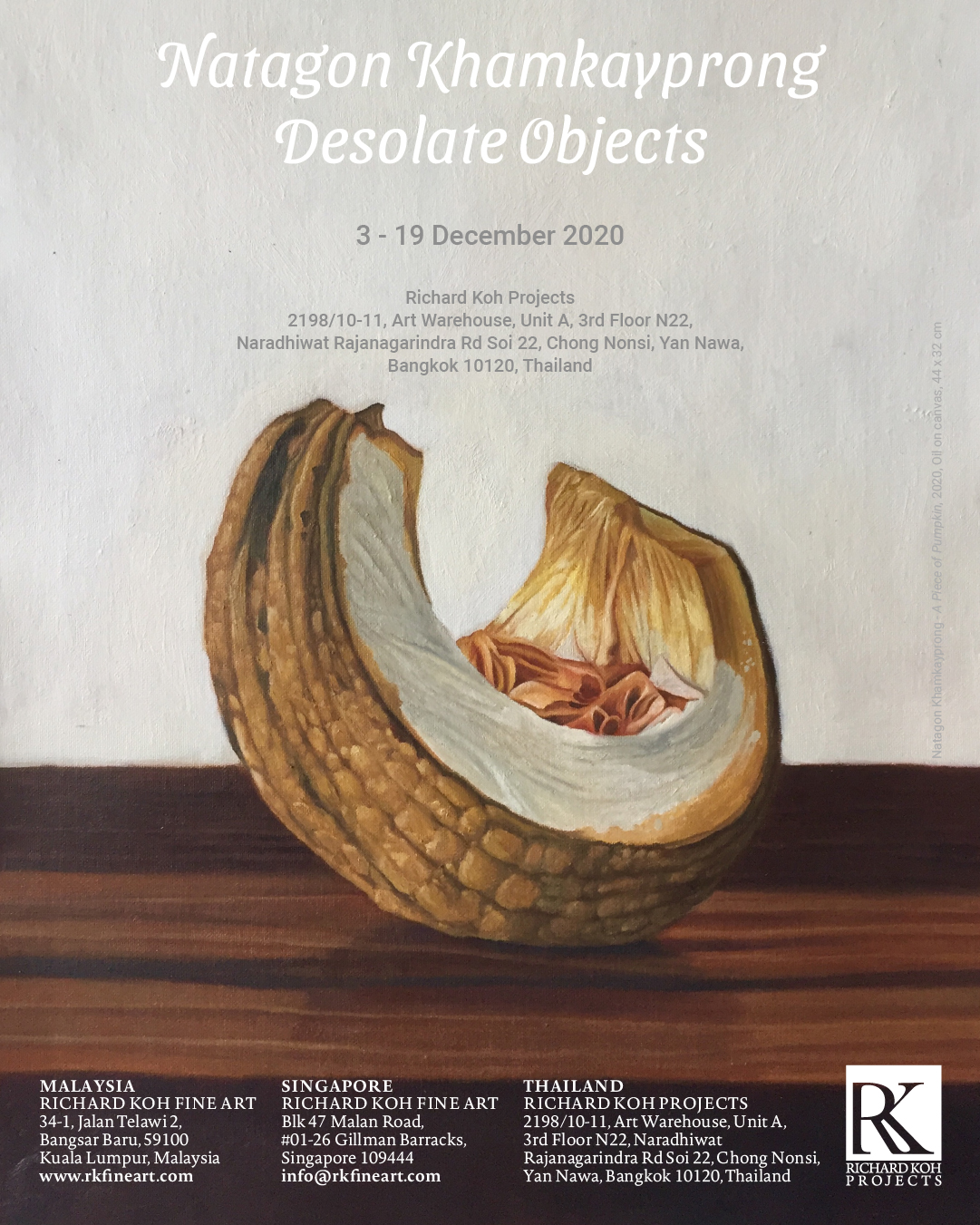 Natagon Khamkayprong – Desolate Objects