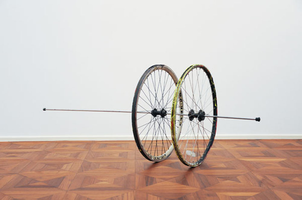 Two Bicycle Wheels