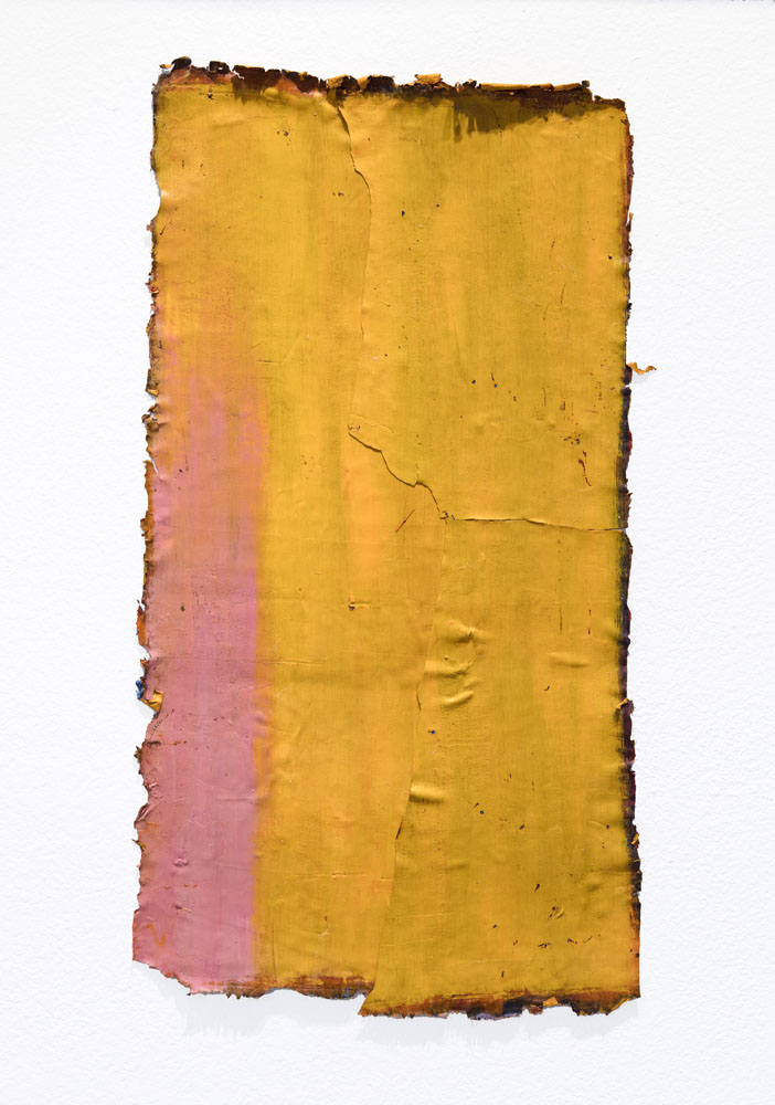 Traces and Residues: Orange on Sienna #02