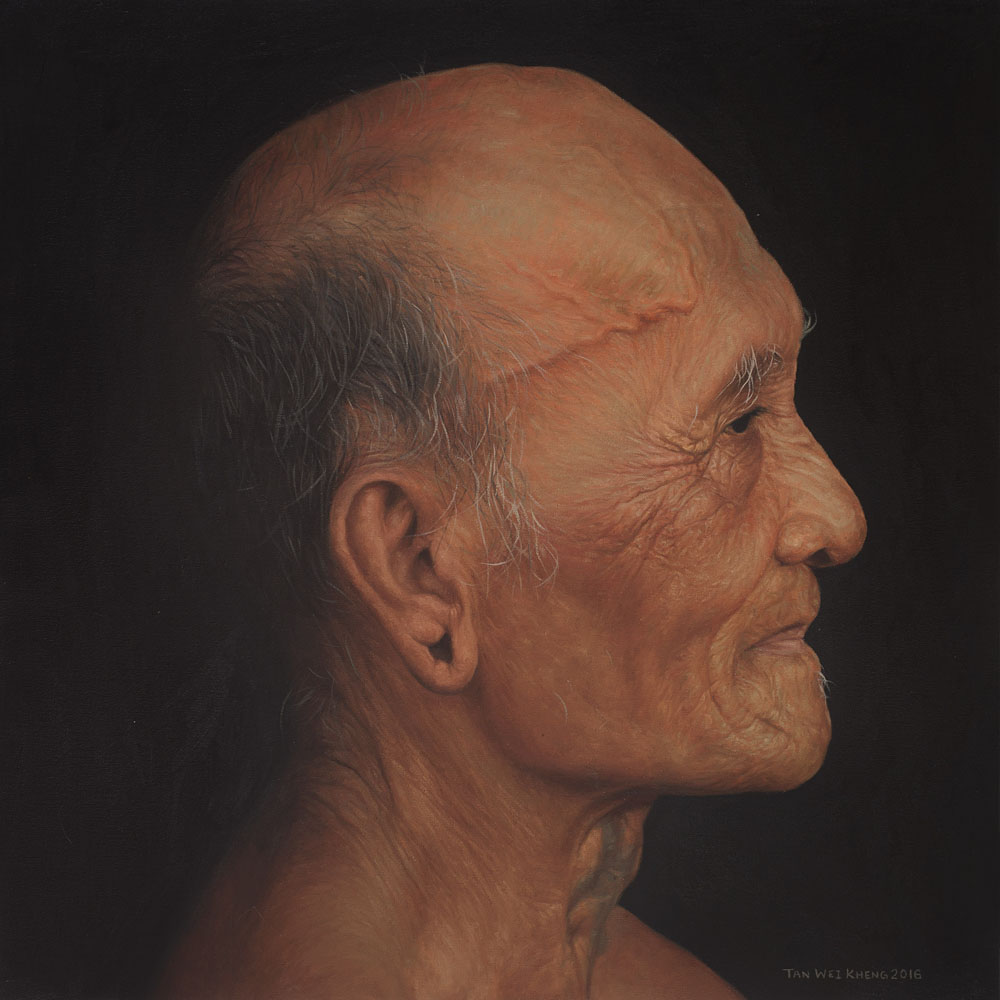 Portrait of Iban Man