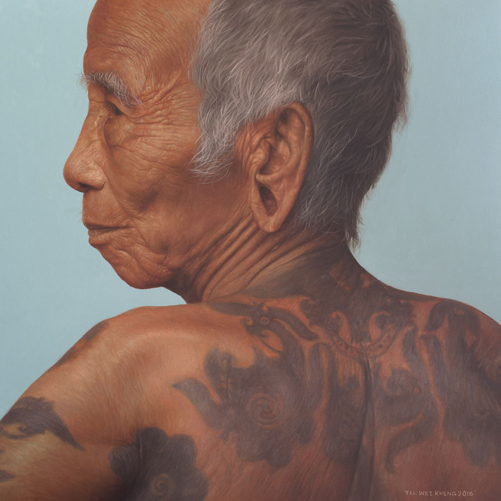 Portrait of Iban Man No.2
