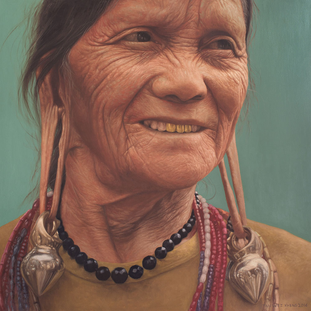 Portrait of Kelabit Lady