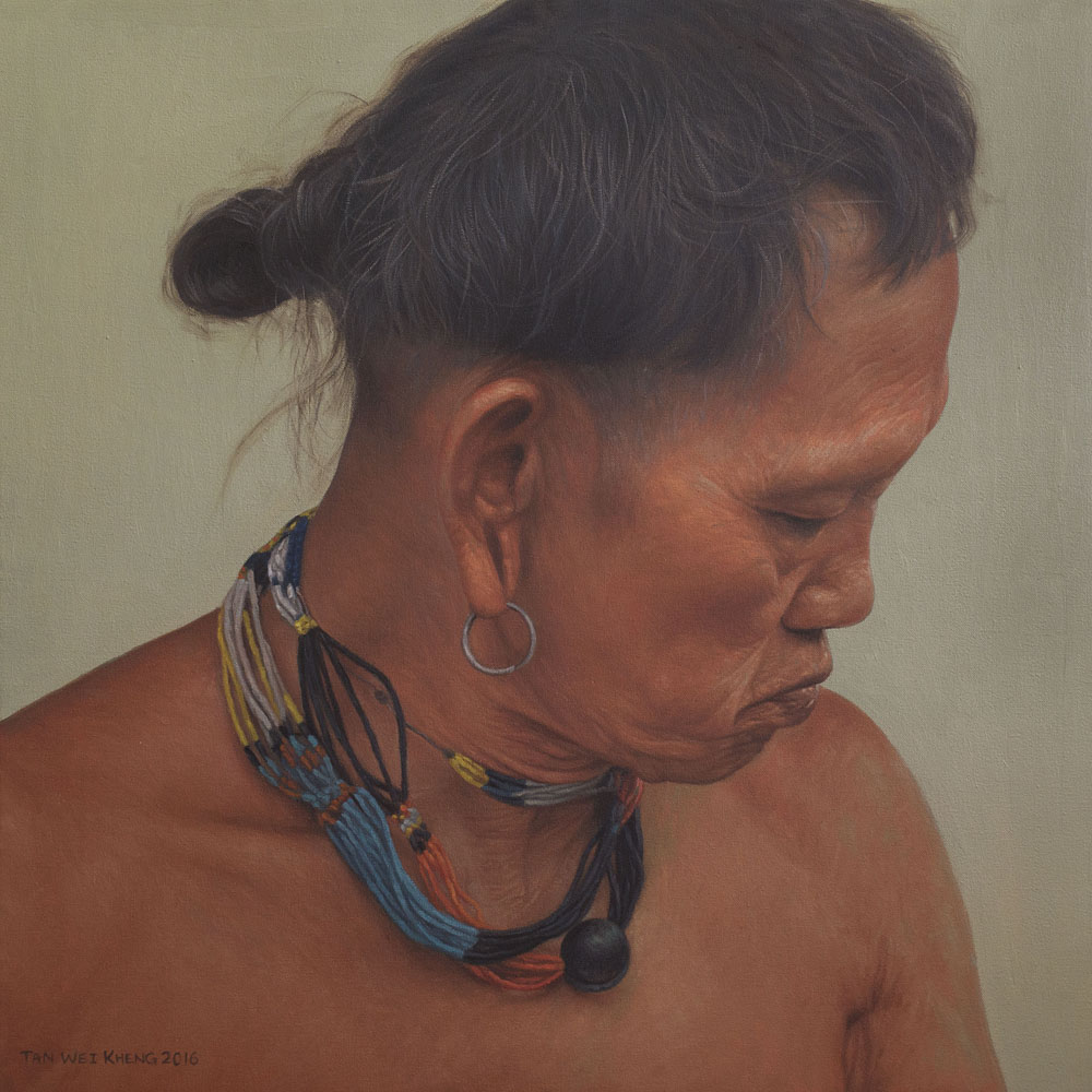 Portrait of Penan Man - Kulin Jemaleh