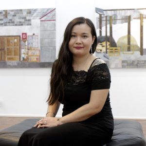 The Star – Melissa Lin's experience of living in Central Africa is captured on canvas