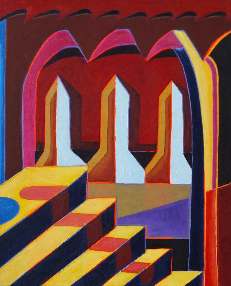 Steps and Corridor II