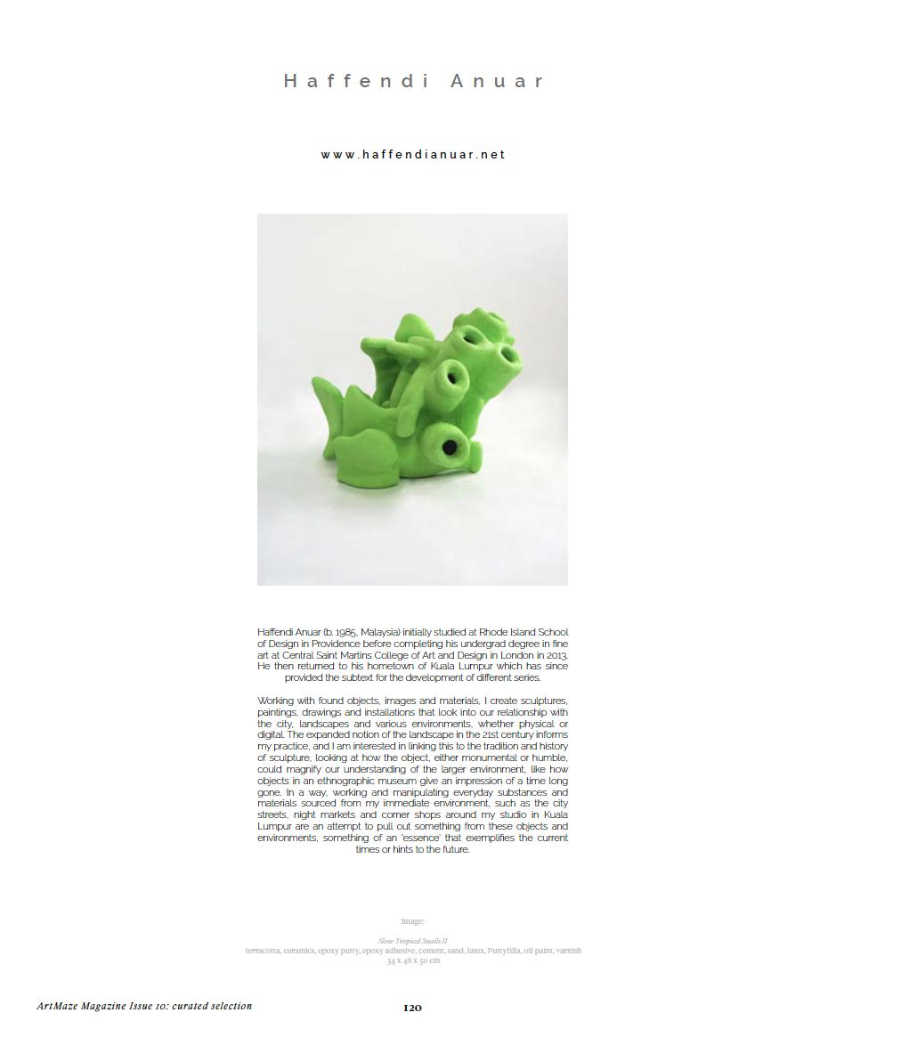ART MAZE Mag – Haffendi Anuar