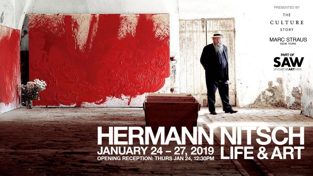 MARC STRAUS – Hermann Nitsch and Jong Oh Events in Singapore