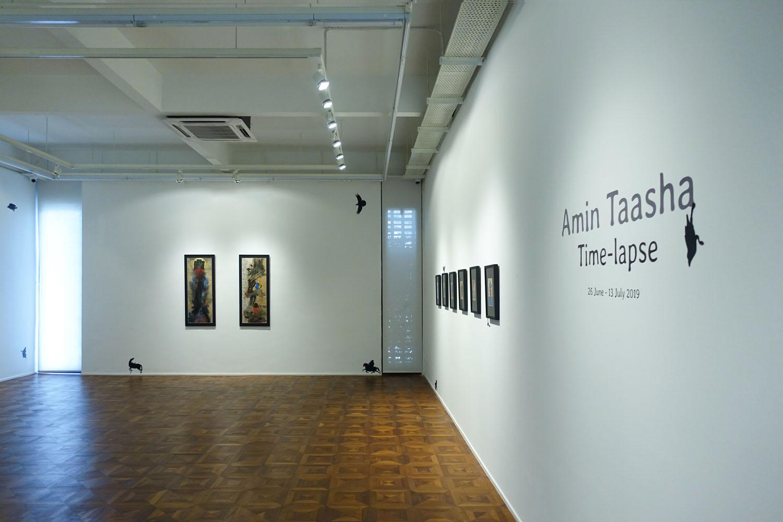 "Music & Art Mag – นิทรรศการเดี่ยวครั้งแรกของศิลปินชาวอินโดนีเซียสัญชาติอัฟกานิสถาน อามิน ทาชา (Amin Taasha) ""เวลาที่คาบเกี่ยว"""