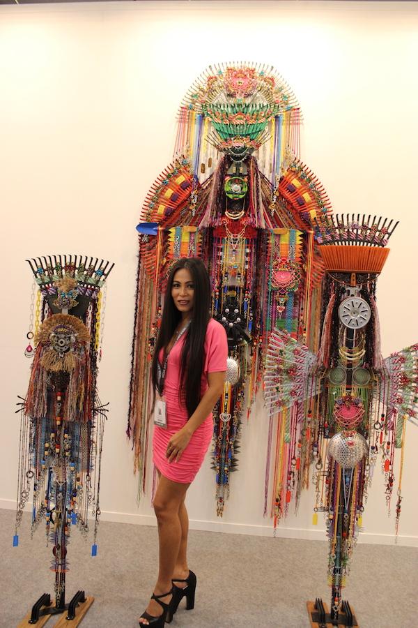 Art From Us – INDIA ART FAIR 2018 : Artist In Focus : Anne Samat