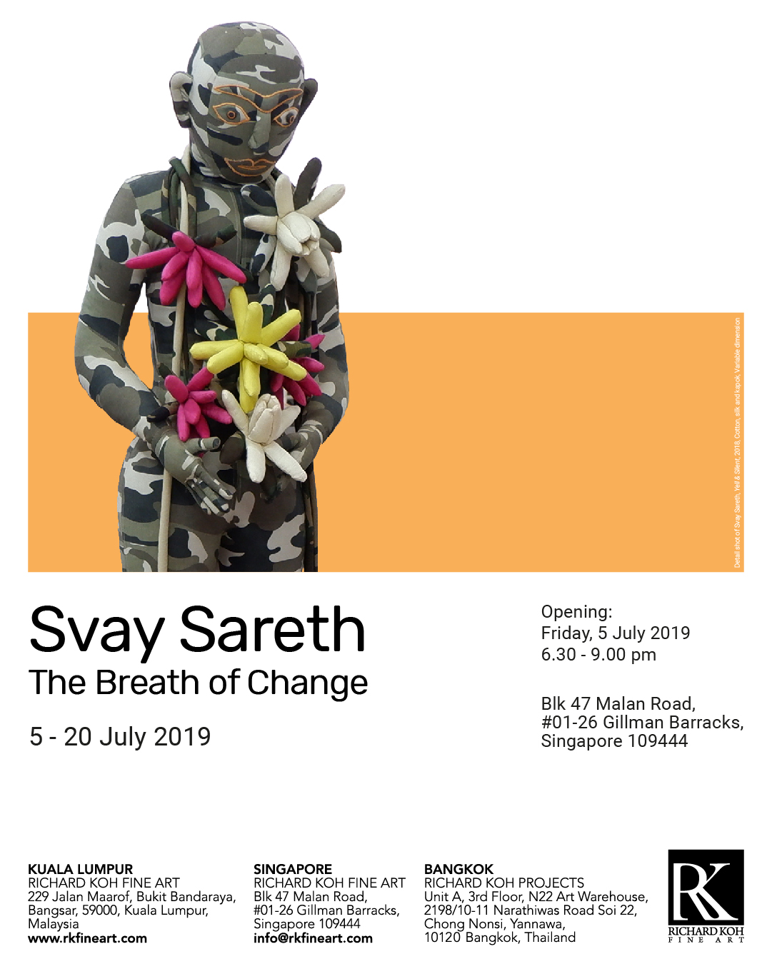 Svay Sareth – The Breath of Change