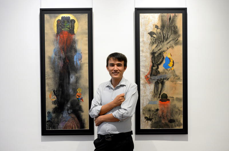 The Star – Step into a dark fairytale at Afghan artist Amin Taasha's exhibition