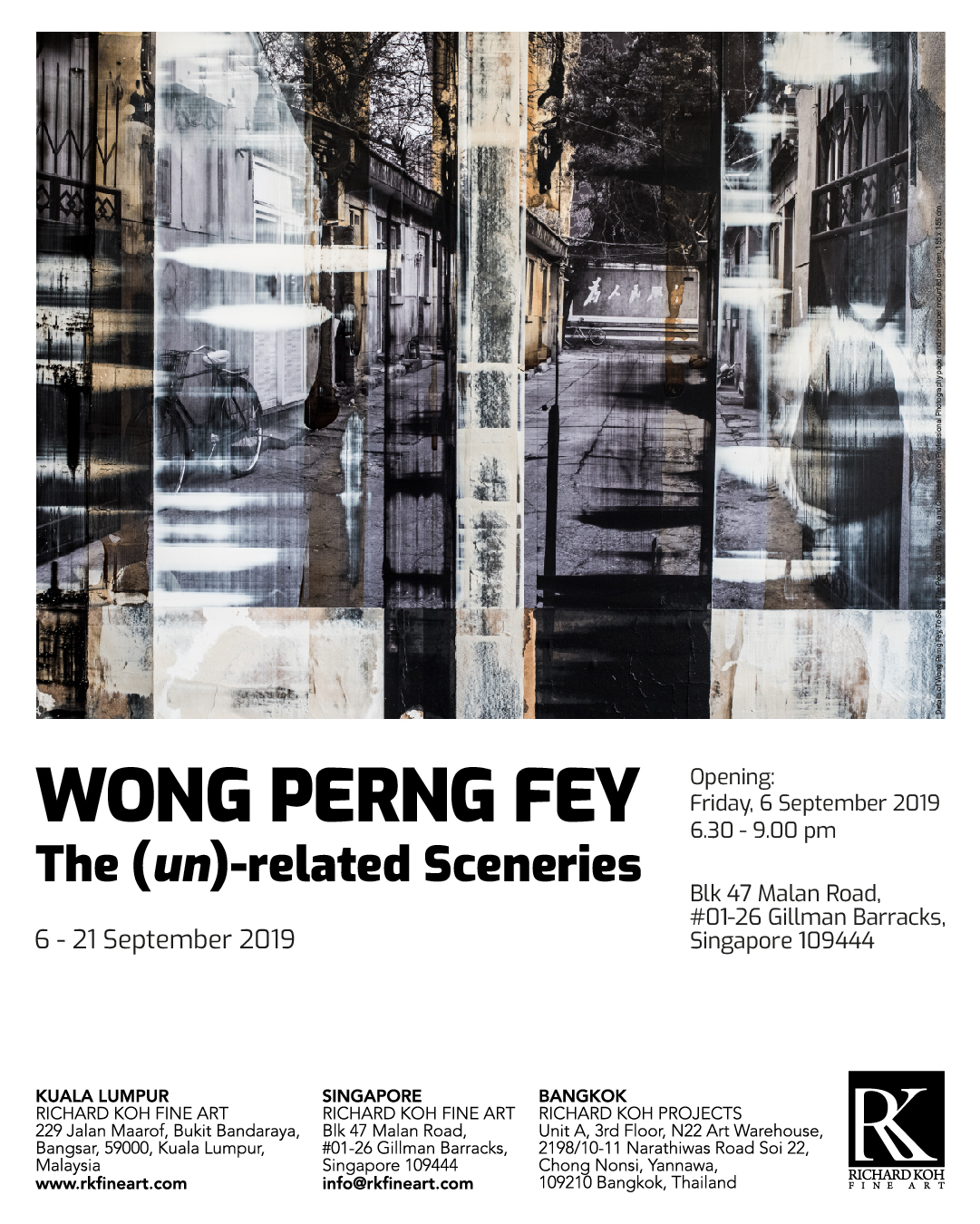 Wong Perng Fey – The (un)-related Sceneries