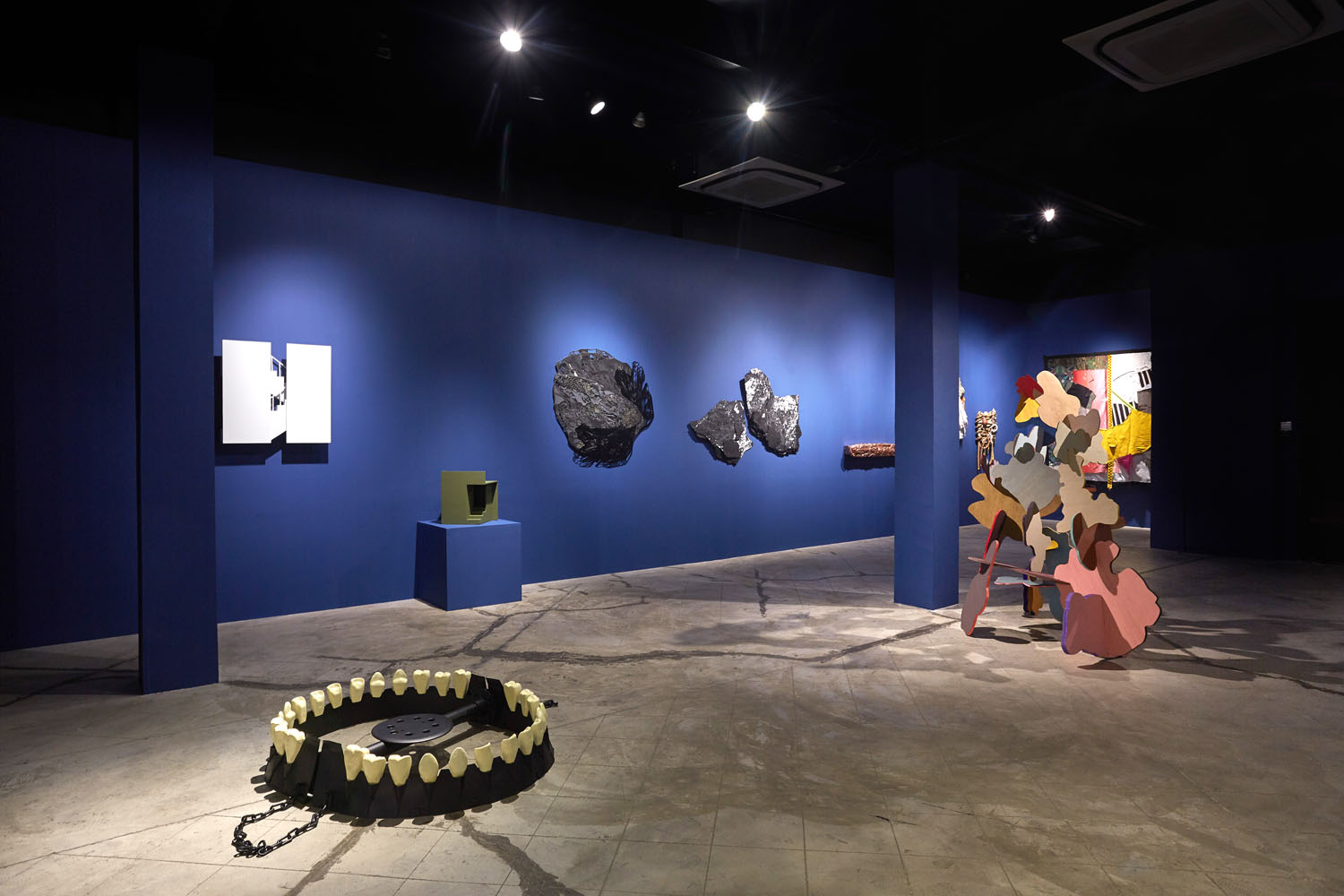 Install shot_Emerging: Collecting Singapore Contemporary - Selections from the DUO Collection
