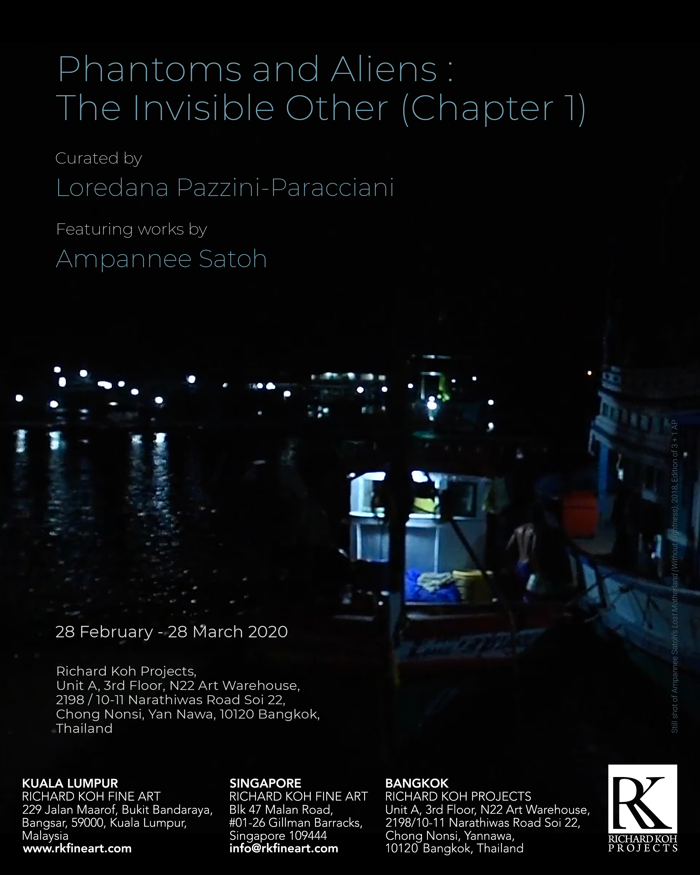 Ampannee Satoh – Phantoms and Aliens: The Invisible Other (Chapter 1)