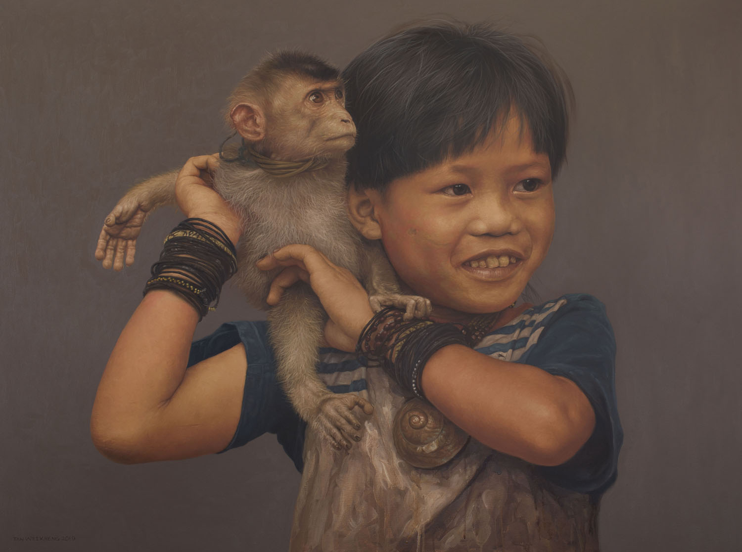 Tan Wei Kheng – Vanishing Jungle Childhood