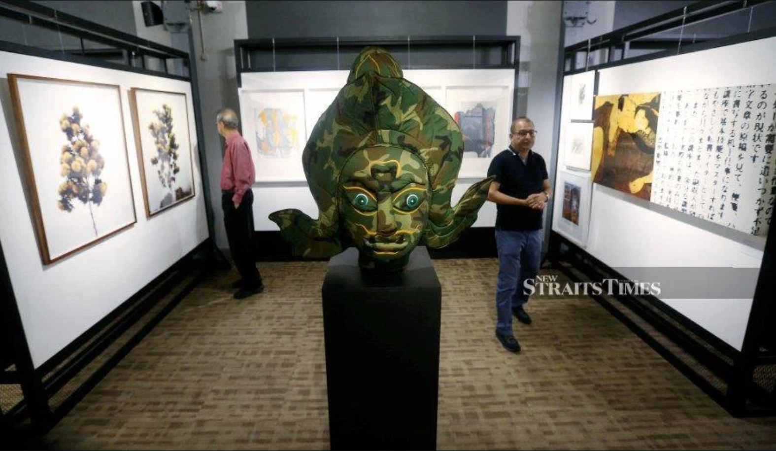 New Straits Times – Henry Butcher Art Auctioneer's Recent Art Auction Bears Testament To The Nation's Thriving Art Market