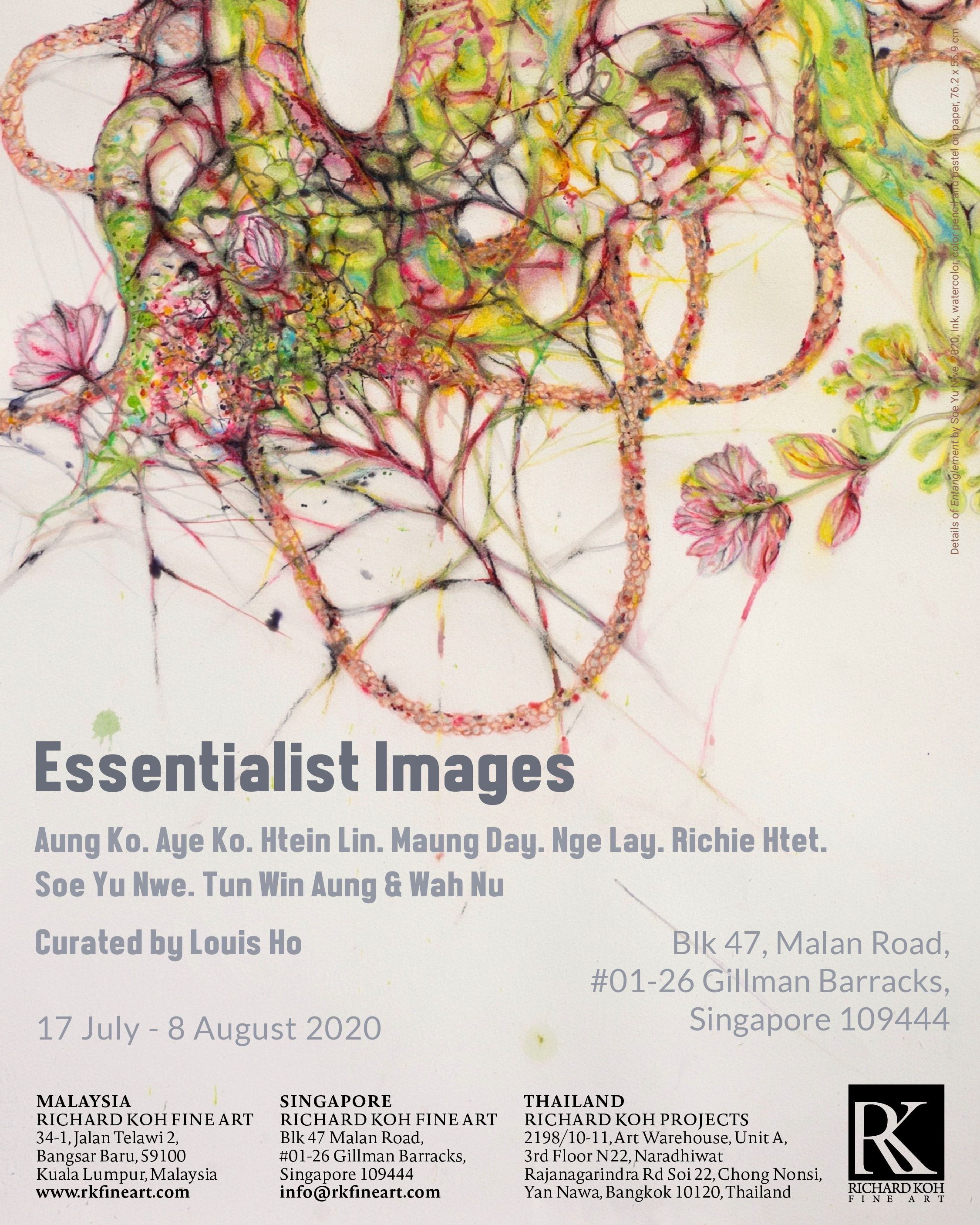 Aung Ko, Aye Ko, Htein Lin, Maung Day, Nge Lay, Richie Htet, Soe Yu Nwe, Tun Win Aung & Wah Nu – Essentialist Images (Curated by Louis Ho)