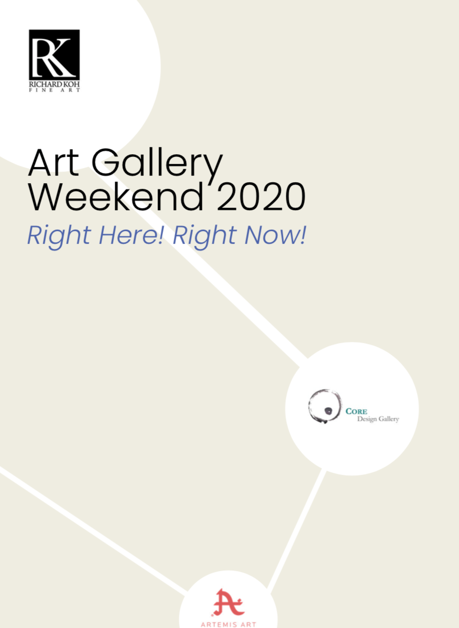 Right Here! Right Now! Art Gallery Weekend 2020
