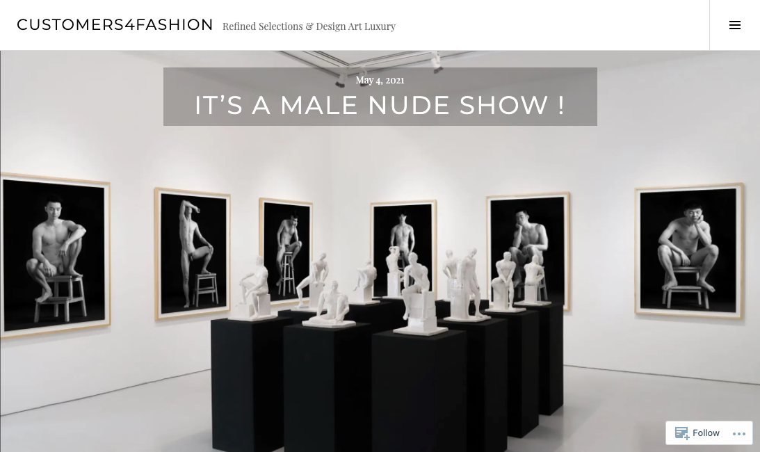 Customer4Fashion – It's A Male Nude Show