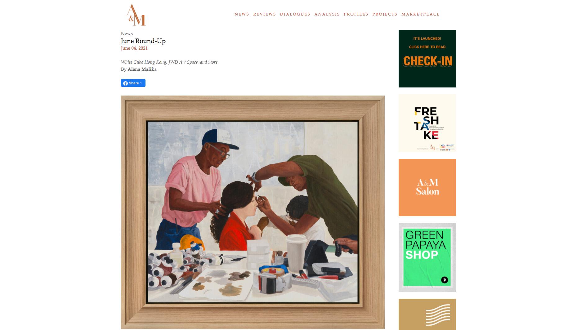 Art & Market – June Round-Up
