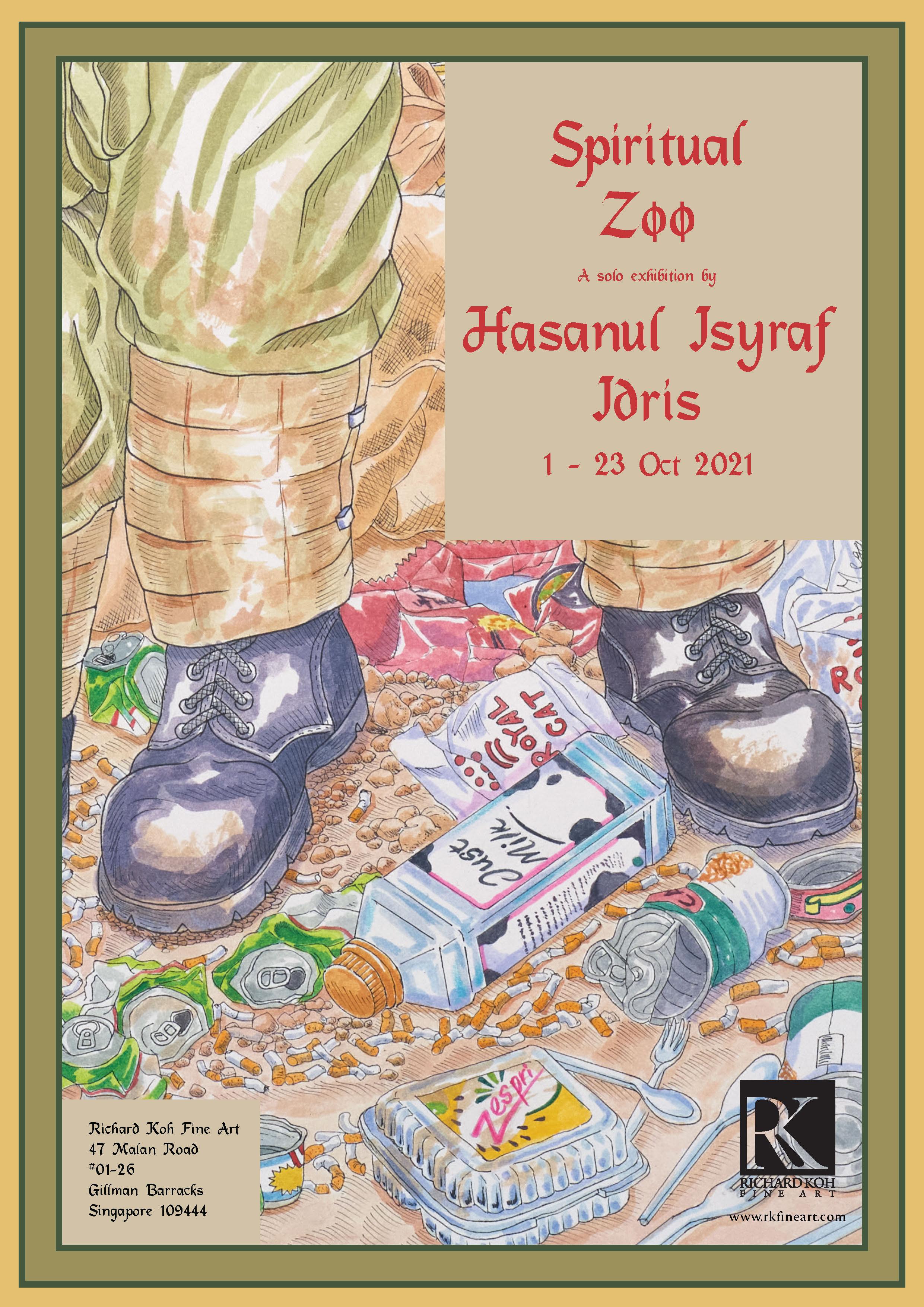 Hasanul Isyraf Idris – Spiritual Zoo